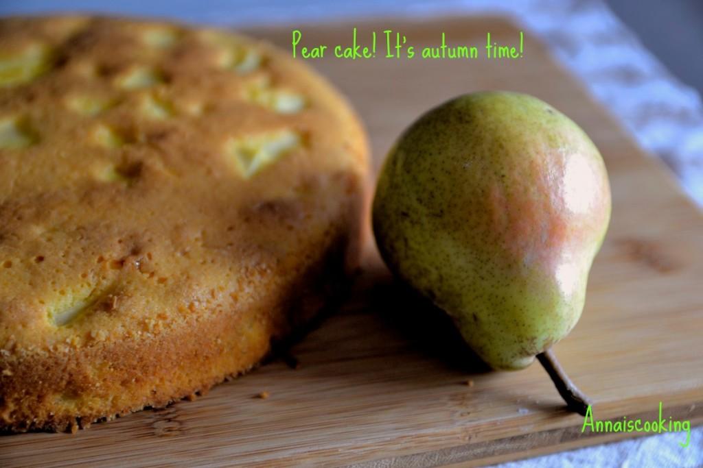 La torta di pere della mamma